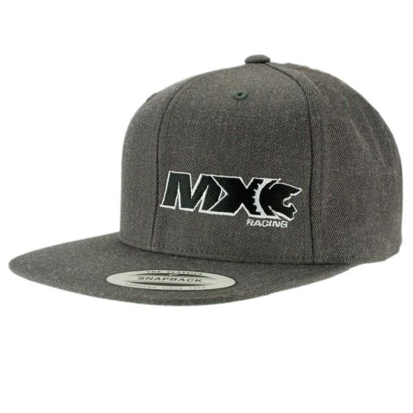 haubn Snapback Cap Classic dunkelgrau MX schwarz