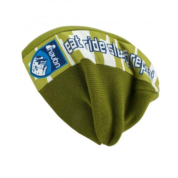 haubn headliner Beaniemütze grün lang