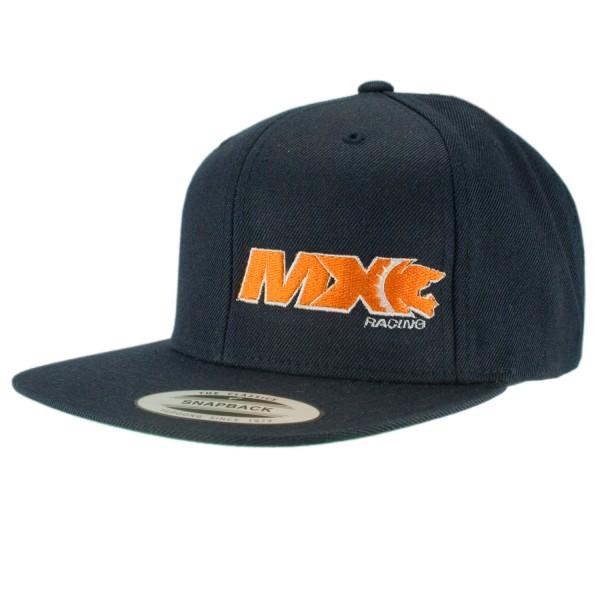 haubn Snapback Cap Classic navyblau MX orange